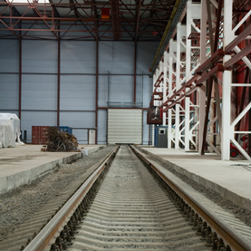 Railroad at Industrial Site